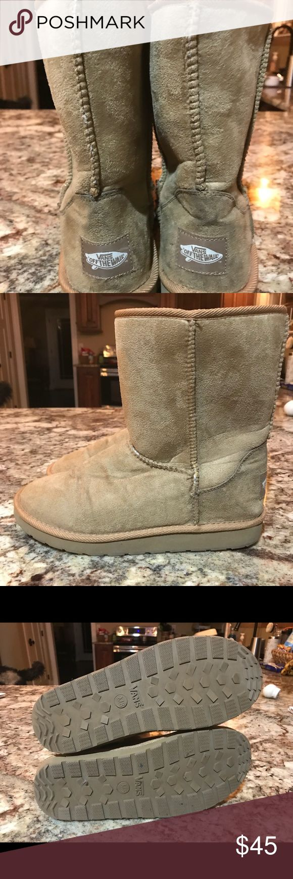 Vans Boots Men size 8 Bought these from another Posher but they were a men's 8, not a women's 8 as advertised. They are in great condition! Make an offer! Vans Shoes Boots