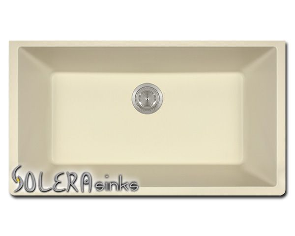 Kitchen Sink Solera Granite Composite Single Bowl Undermount In