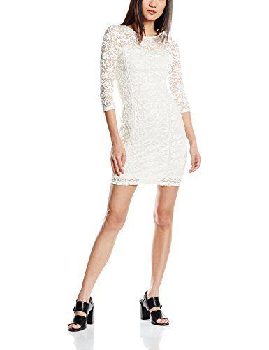 cb80123424214d Tally Weijl SDRLATASY Vestito Donna Elfenbein (off White AQ) 38 ...