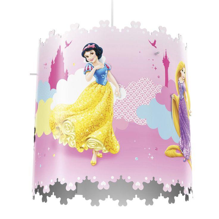 Disney Multi Colour Princess Light Shade | Departments | DIY at B&Q