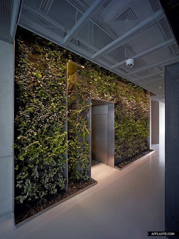 greenery office interiors. Taoyuanju Office Interior Renovation // Vector Architects | Afflante.com Greenery Interiors E