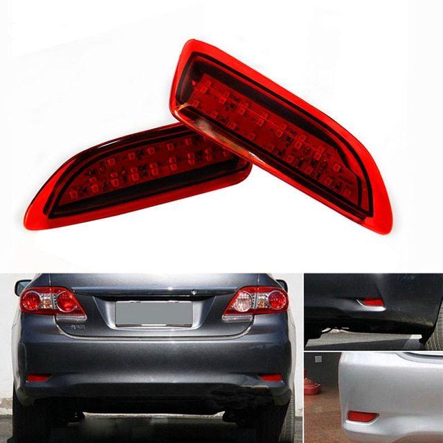 Red Rear Tail Lamp Fix Brake Light Lens Repair Tape for Toyota Corolla
