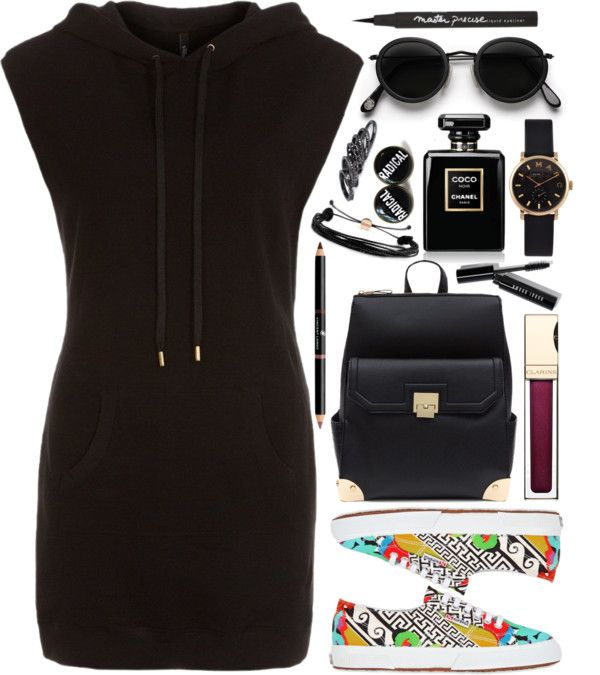 """Versace Hoodie and Sneakers"" by andreearucsandraedu on Polyvore"