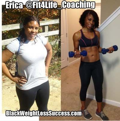 Erica lost 60 pounds! Now she helps others to get fit! Read her story and find out how she did it.