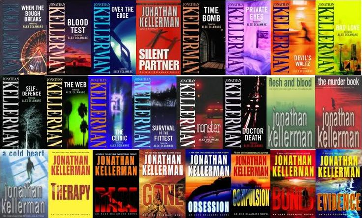 The Alex Delaware novels by Jonathan Kellerman