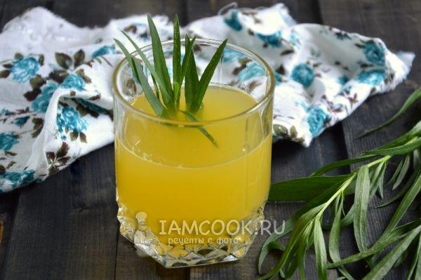 Апельсиновый напиток с эстрагоном