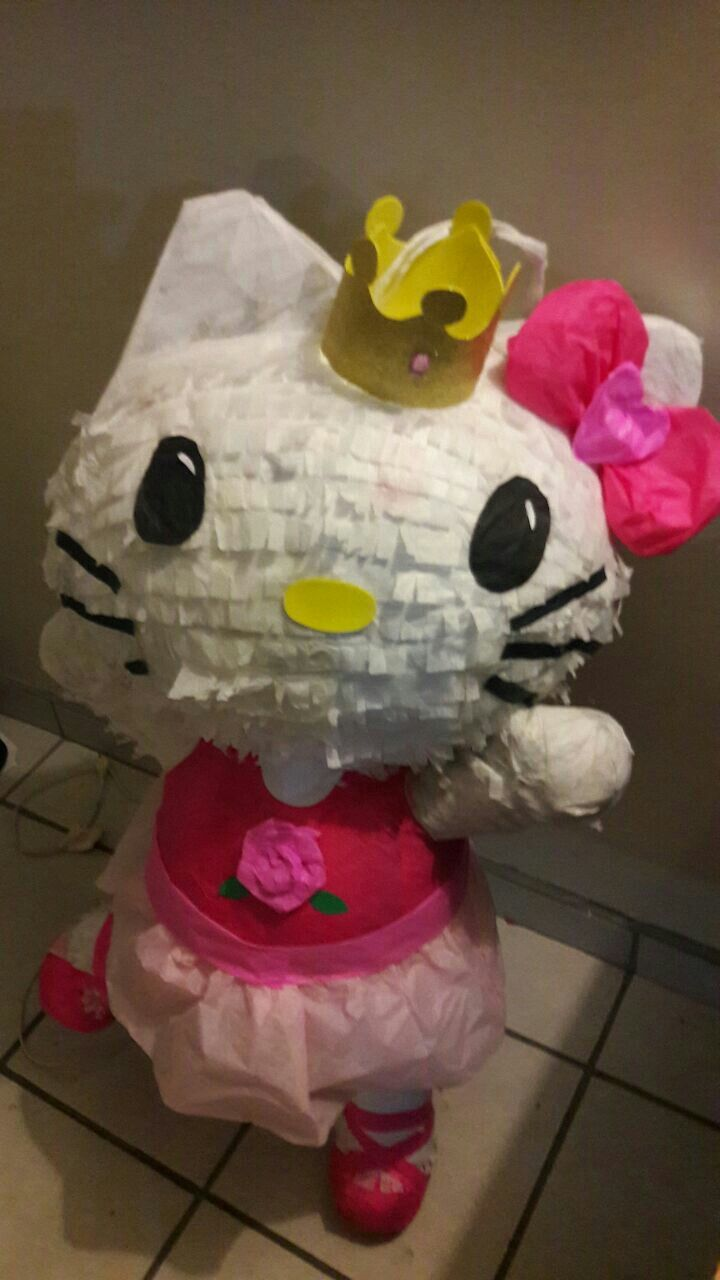 M s de 1000 ideas sobre pi ata de hello kitty en pinterest cumplea os de hello kitty pastel - Pinatas de cumpleanos ...