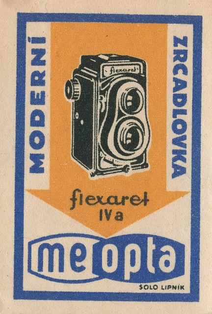 Check out this vintage czechoslovakian matchbox label. Fabulous. @Matchbook Magazine
