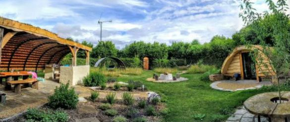 The Secret Garden Glamping in Hertfordshire and Cambridge with Hot Tub