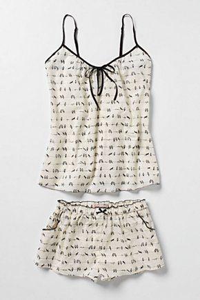too cute, birds on a wire Clothing, Shoes & Jewelry - Women - Clothing - Lingerie, Sleep & Lounge - Lingerie - Lingerie, Sleepwear & Loungewear - http://amzn.to/2lSL4Y7