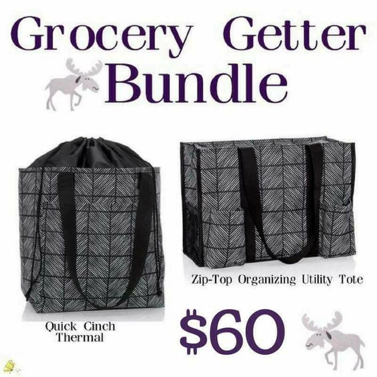 A must for grocery shopping !  No regrets with this bundle, save big until September 30th.