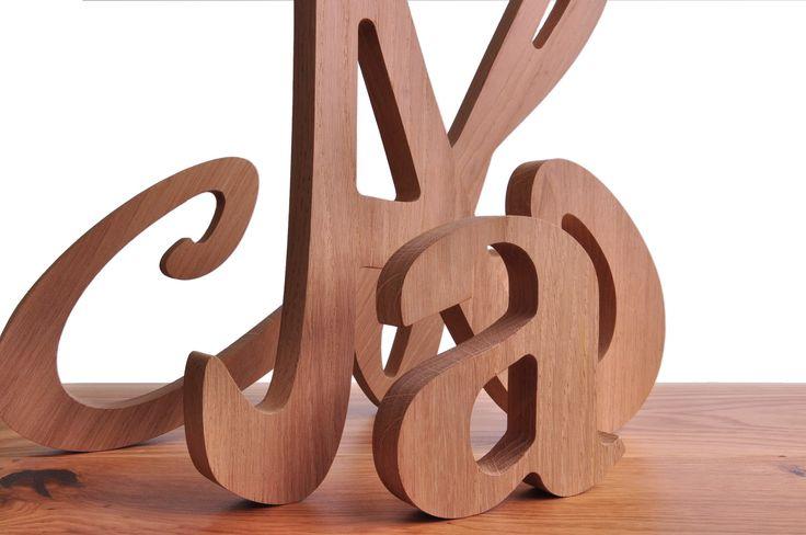 Litery, cyfry, znaki, napisy... wszystko do zdobienia techniką Decoupage. Świetne jako dekoracja sama w sobie.