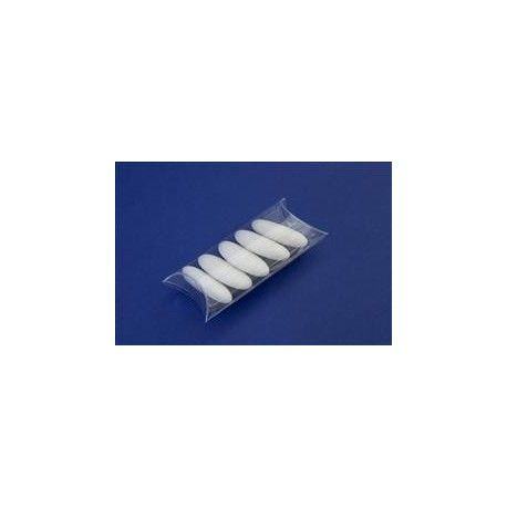 Scatolina Trasparente pvc Tubo piccolo 6 x 4 cm