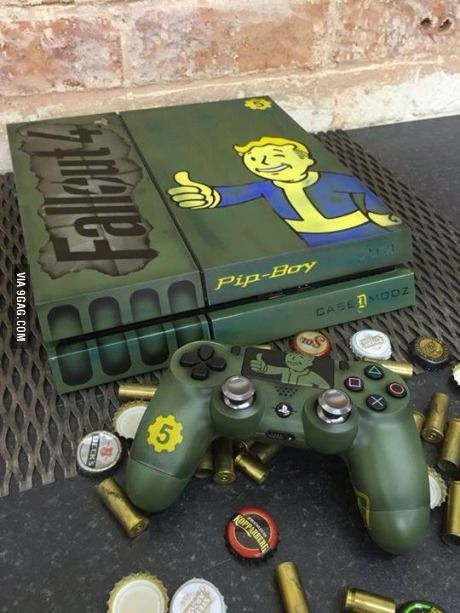 Fallout 4 ps4 case.. All aboard the hype train