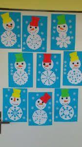 Risultati immagini per addobbi per l'inverno scuola materna