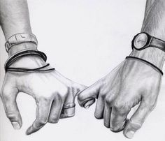 pencil drawings of people holding hands - Google Search