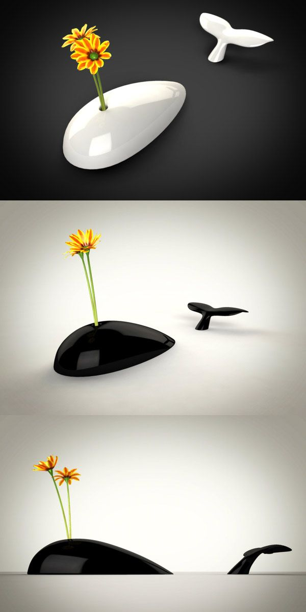 Whale vase #design