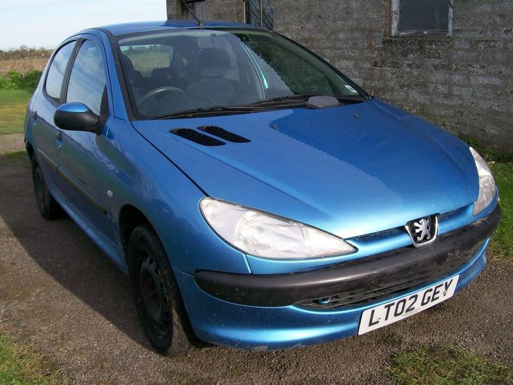 PEUGEOT 206 LX 1.1 2002 REG 5 DOOR NUT FOR SPARES REPAIR ALL PARTS AVAILABLE