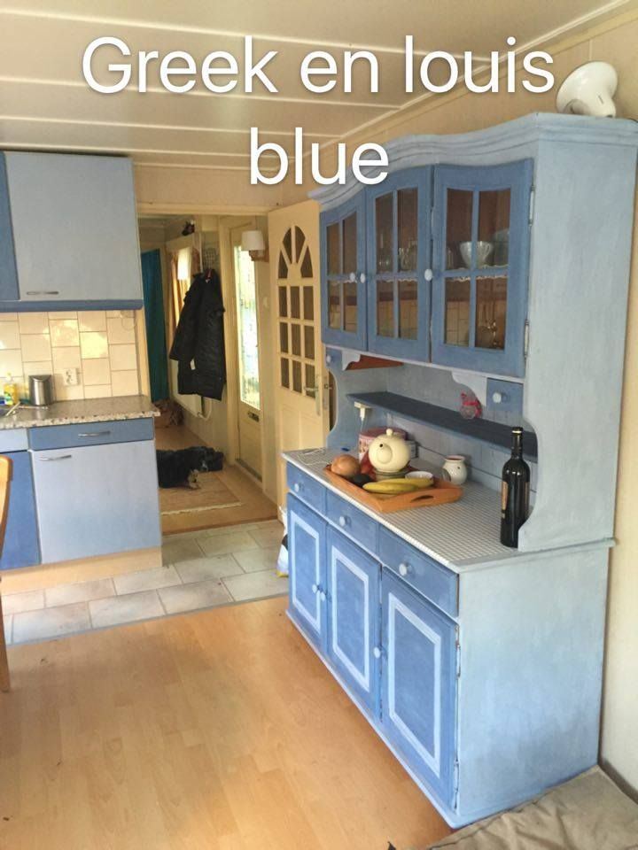 Dookje heeft een fantastisch resultaat bereikt met Louis Blue op de kast en keuken echt top