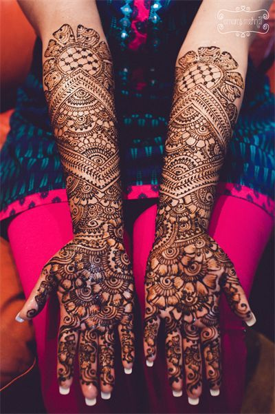 Intricate Mehndi Design