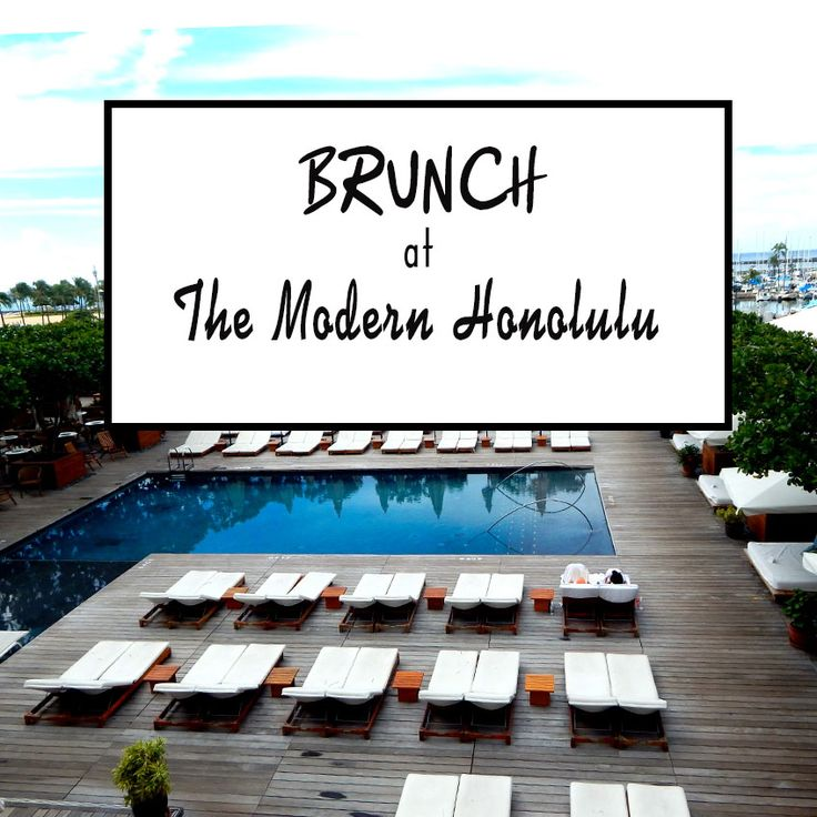We love brunch, especially avocado toast! The Modern Honolulu Hotel boasts a wonderful venue to dine along the beach front! - Who Needs Maps
