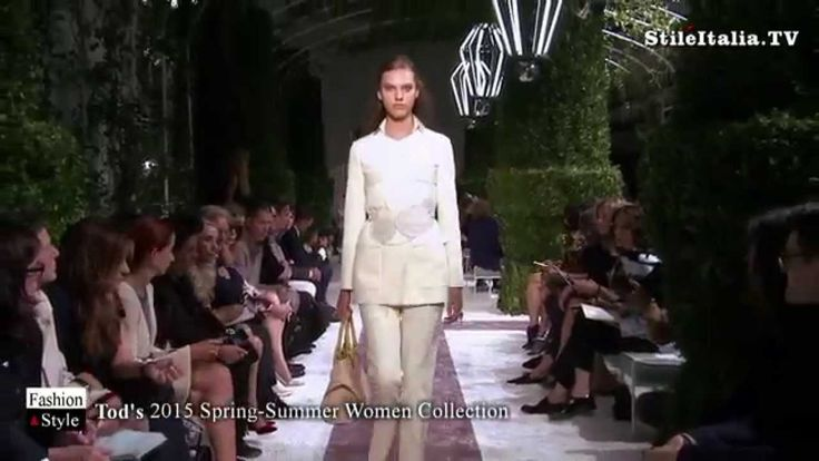 """Italian Fashion"" - Tod's -  ""2015 Spring Summer"" Women's  Collection"