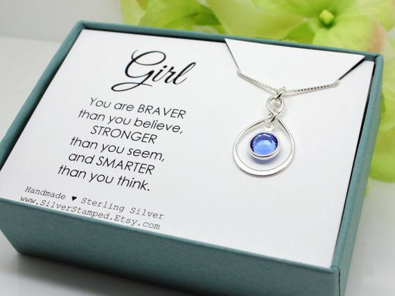 18th 21st Special Birthday Charm Necklace Personalised Gift Box Card Gift 16th