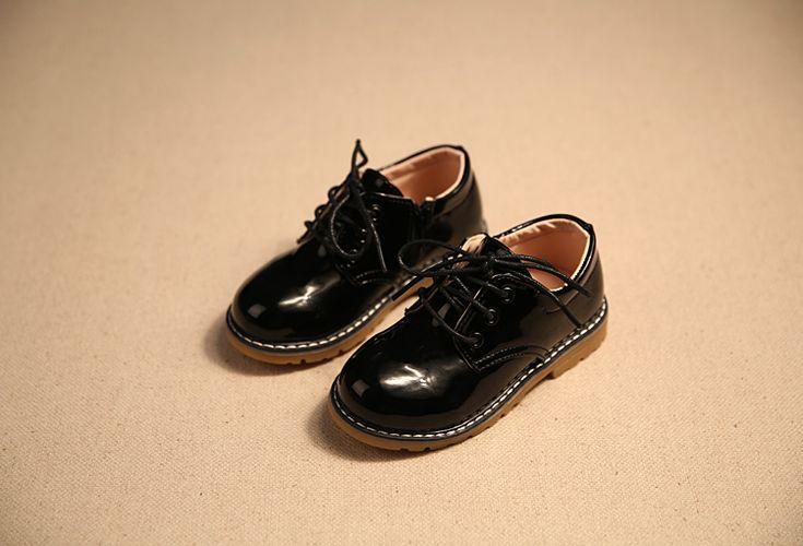 2016 мальчиков обувь мода модели весеннего половодья кожа светлая кожа мальчиков девочки дети кроссовки дети свободного покроя обувь черный 21 36 кроссовки детские обувь на колесиках кросовки с роликами купить на AliExpress