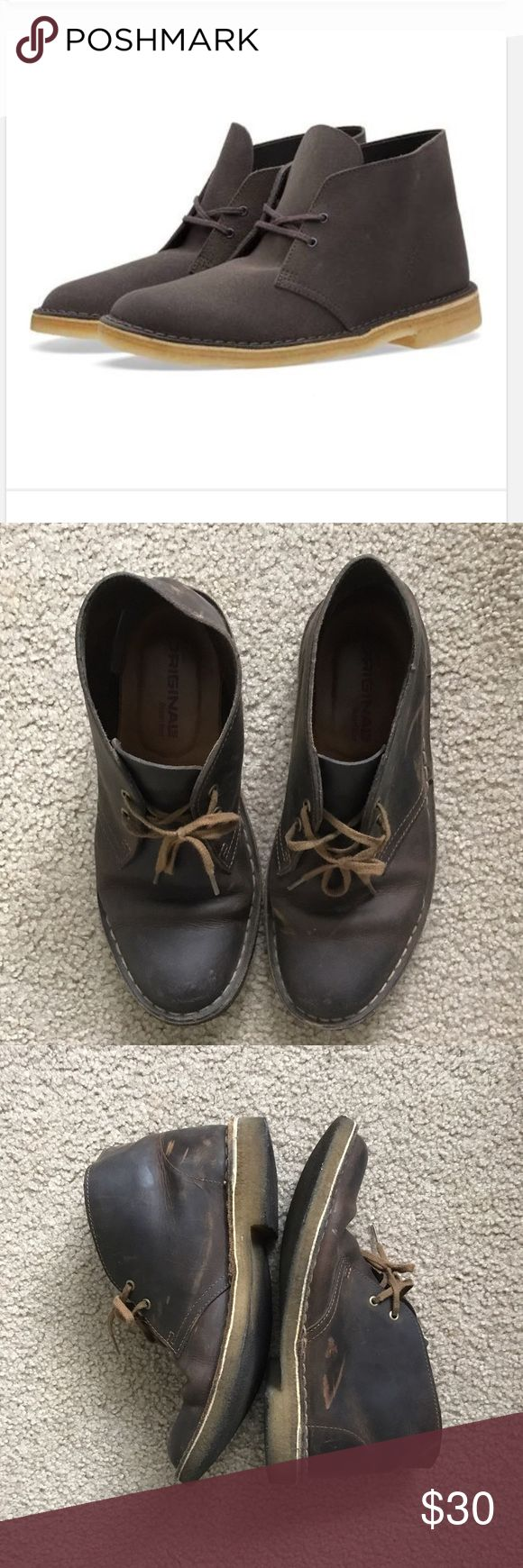 Clarks original desert boot Previously loved Clarks Shoes Ankle Boots & Booties
