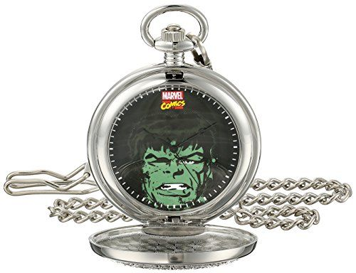 Marvel Men's Hulk W001747 Analog-Quartz Pocket Watch https://www.carrywatches.com/product/marvel-mens-hulk-w001747-analog-quartz-pocket-watch/ Marvel Men's Hulk W001747 Analog-Quartz Pocket Watch