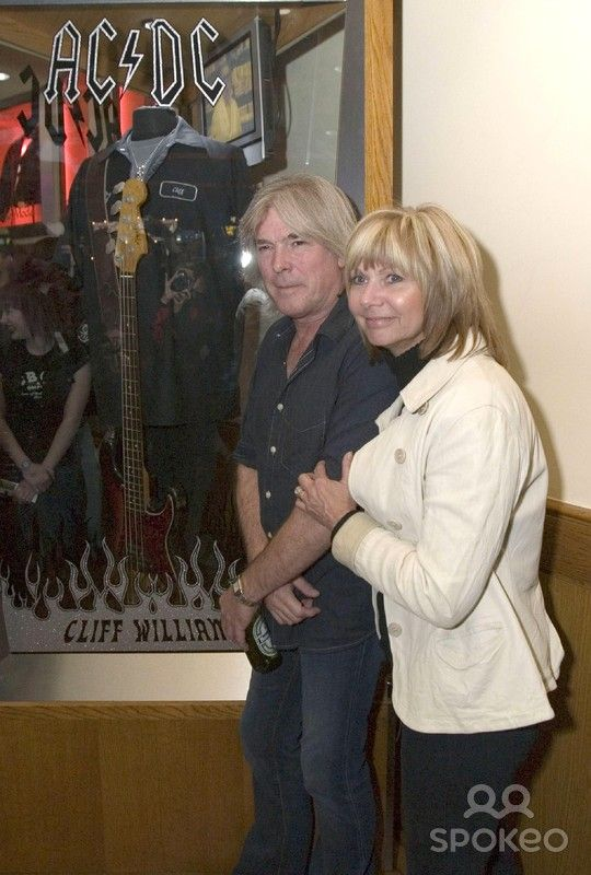Cliff Williams And His Wife The Hard Rock Unveils A New