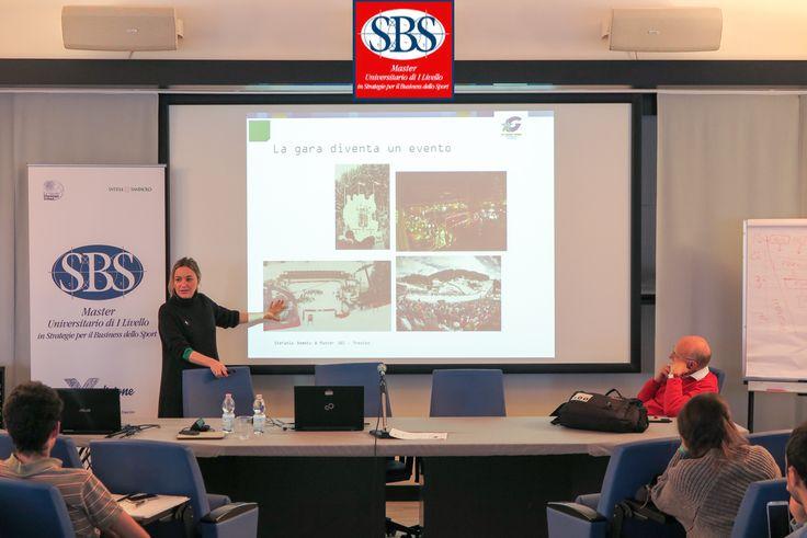 Eccomi di nuovo a Treviso al Master SBS a parlare di evento, evento e sport, evento e sport e management.