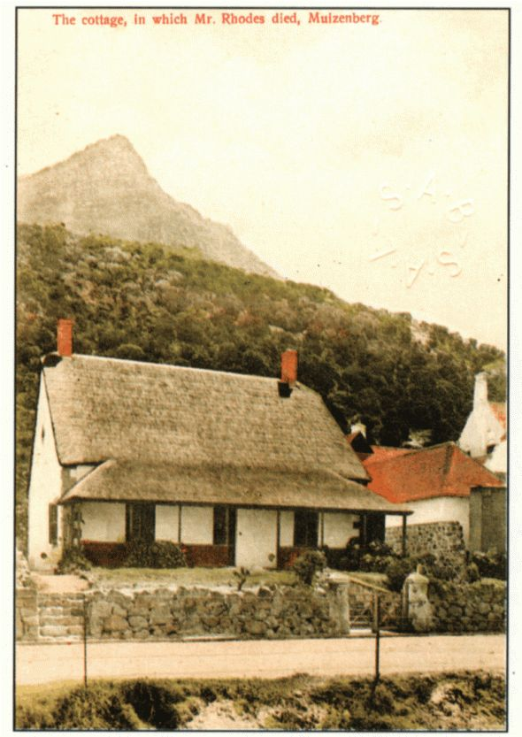 After Rhodes' death in March 1902 the cottage was left in the care of his personal body servant Tony Delacrax until 1904. Thereafter the roof was altered and the cottage was boarded up until 1932 after which it was handed over to the Northern Rhodesian Government as a rest and recreational home for their civil servants. In 1937 it was handed over to the Cape Town City Council and in 1953 was converted into a museum. It was opened that year by the Mayor of Cape Town, Mr Fritz Sonnenberg, and…