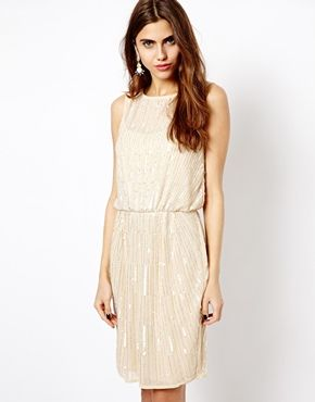 River Island Sleeveless Sequin Dress