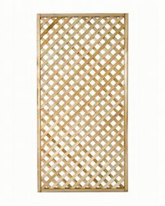 Wickes Diamond Lattice Trellis 1.8m x 900mm | Wickes.co.uk