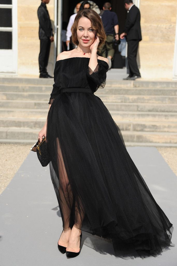 Ulyana Sergeenko attends the Christian Dior Ready to Wear Spring / Summer 2012 show during Paris Fashion Week at Musee Rodin on September 30, 2011 in Paris, France.