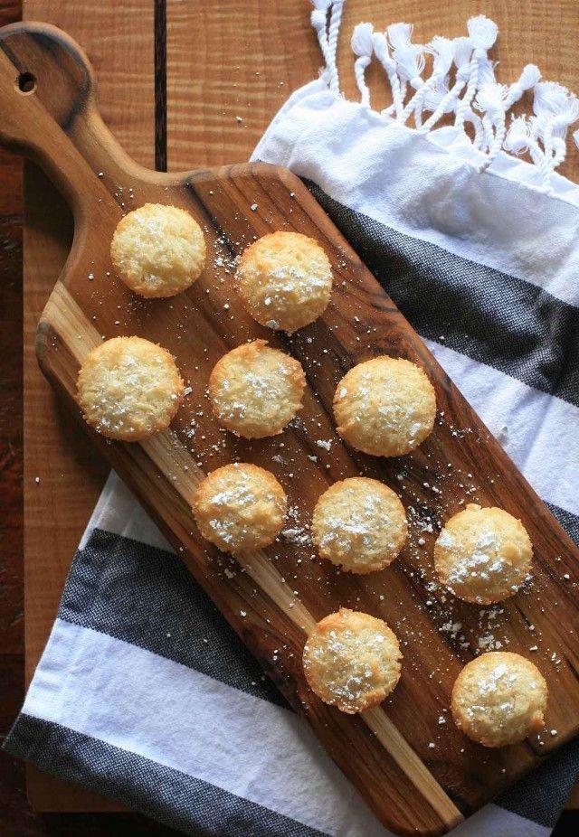 Coconut Friands- Gluten-Free Mini Coconut Tea Cakes | Girl Cooks World