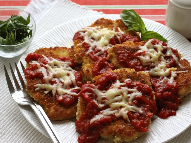 Crispy Cheesy Chicken Parmesan | Food I Want to Make | Pinterest