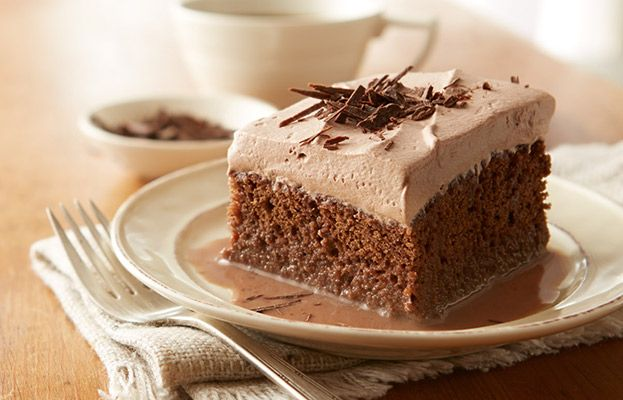 Chocolate Pumpkin Sour Cream Cake