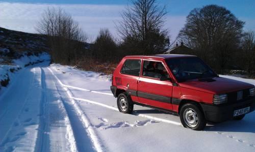 Fiat Panda MK2 4x4 (1988) - By far the coolest Panda ever