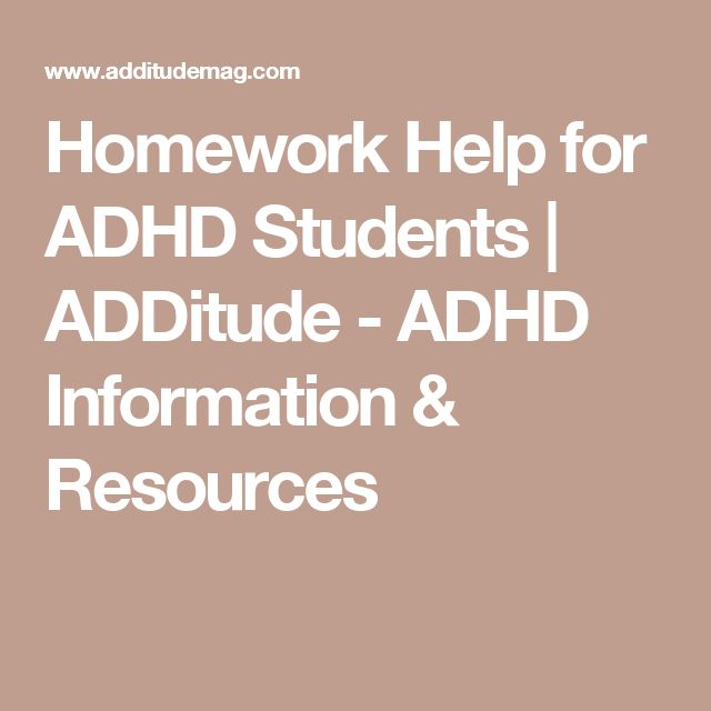 Accommodations to Help Students With ADD and ADHD Pinterest students with adhd