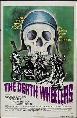 Ghosts Of The Great Highway: 10 Fine Examples. Biker movie posters.