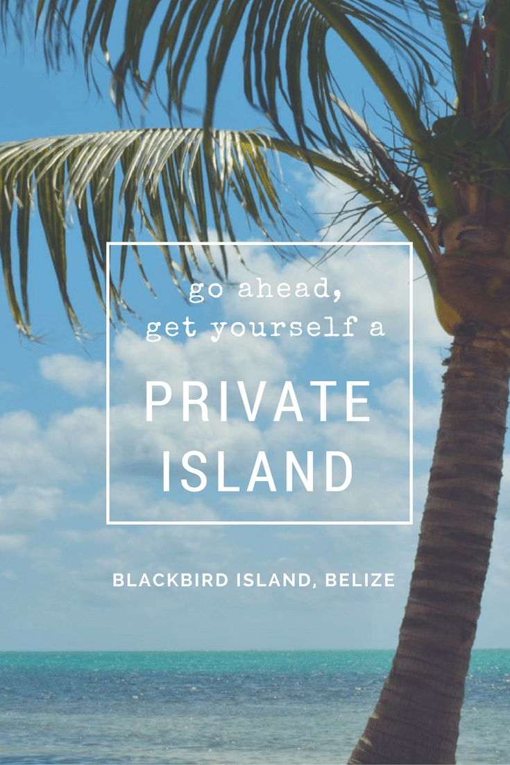 Blackbird Island Saint Georgeu0027s Caye Belize