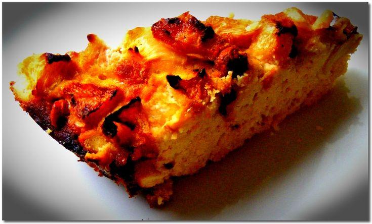 Őszibarackos-mandulás sütemény