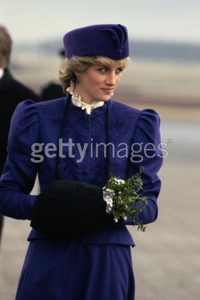 Princess Diana in Kingston upon Hull, 1986 (Repinned)