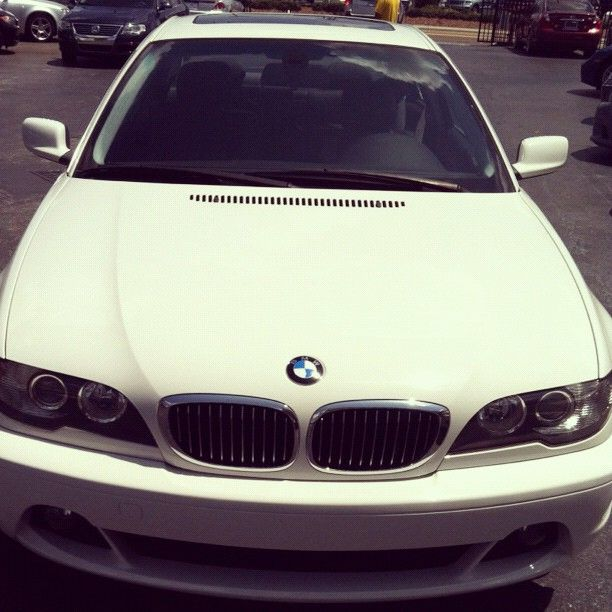 "My ""'White Girl"" .. BMW 325 ci <3"