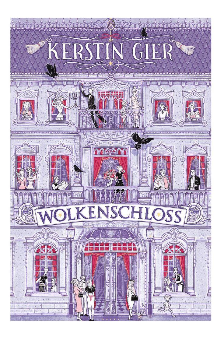 """Am 9. Oktober 2017 wird mit """"Wolkenschloss"""" ein neues Jugendbuch von Kerstin Gier erschienen und hier ist das Cover zur Neuerscheinung.     Bildrechte ©Fischer FJB & Eva Schöffmann-Davidov"""