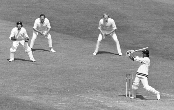 1975: The dawn of ODI cricket and World Cup - Emirates 24|7 The first match of the tournament was played between India and England at the 'home of cricket', the Lord's cricket ground on June 7, 1975. Batting first, England team made a steady start courtesy Dennis Amiss' century and ended the innings on a high with Christopher Old scoring 51 runs off just 30 balls. The sixty overs yielded a massive 334 runs for the loss of only four wickets. (AP)