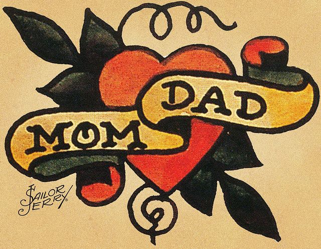 "Mom & Dad by Norman ""Sailor Jerry"" Collins"