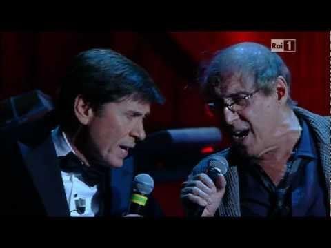 """Adriano Celentano e Gianni Morandi ♪ Ti penso e cambia il mondo """"Festival di Sanremo"""" 2012"""